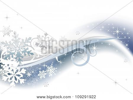 Beautiful winter snow background for banners, backgrounds, presentations and decorations.