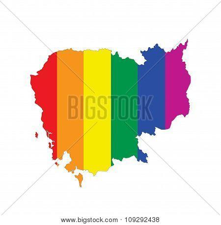 Cambodia Gay Map