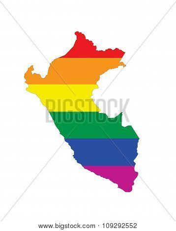 Peru Gay Map
