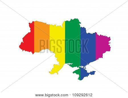Ukraine Gay Map
