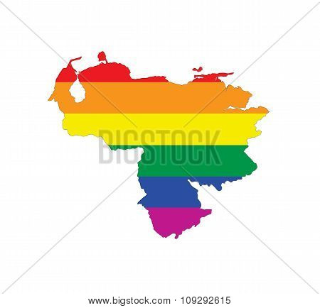 Venezuela Gay Map