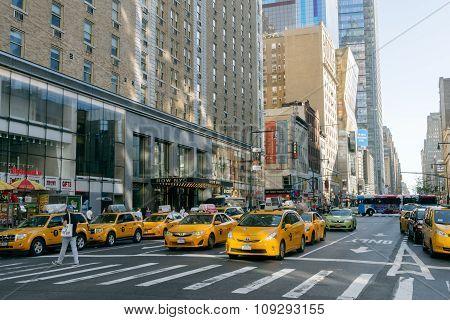 Street Of New York