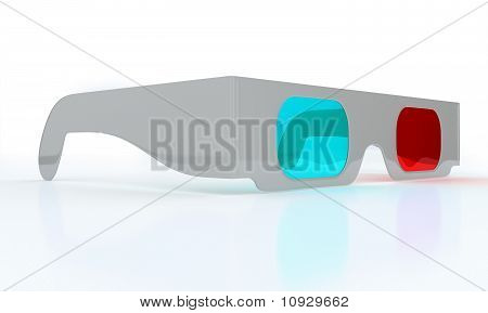 Stereoscopic 3D Glasses For Watching 3Dtv