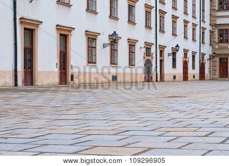 Vienna, Austria - Hofburg Palace Courtyard.