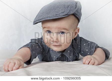 Portrait Of Adorable Child