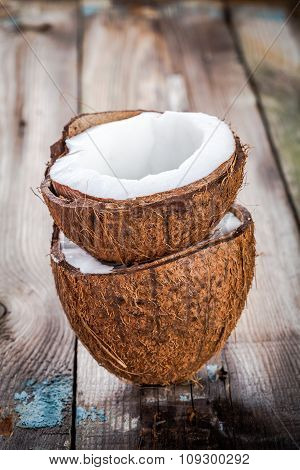 Fresh Organic Coconut