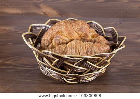biscuits in a wooden bowl