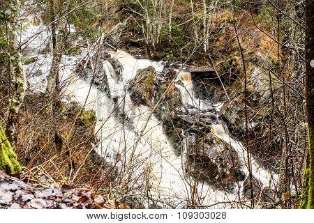 Falls in Karelia