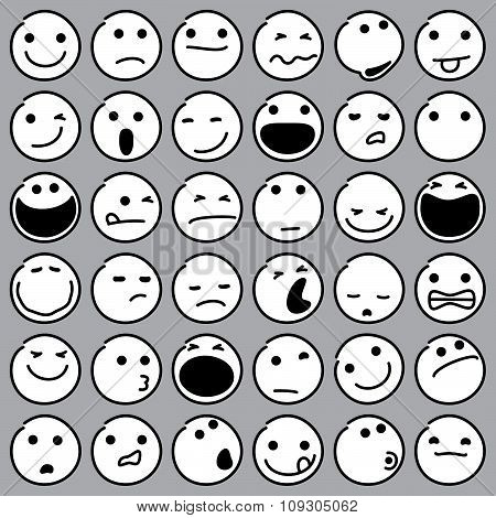 Caricature Emoticons
