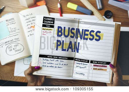 Business Plan Process solution Strategy Concept
