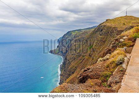 Madeira, Ponta Do Pargo - Vibrant Cliff Coast