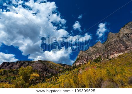 Fall Foliage Telluride Colorado