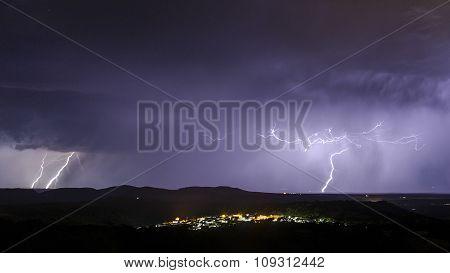 Landscape With Storm