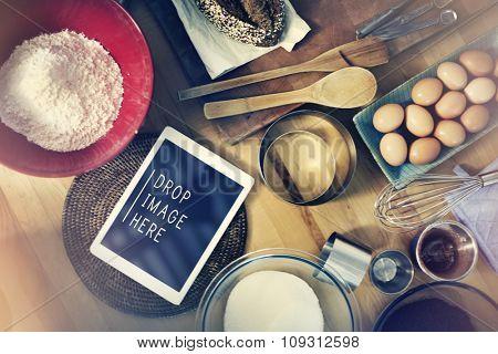Baking Bakery Preparation Gourmet Recipe Concept