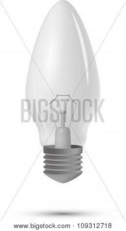 lightbulb on a white background