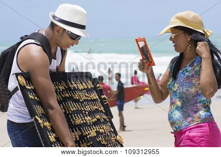 Selling Jewelry On The Beach