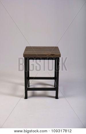 Wooden chair studio made shot