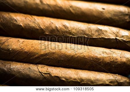 Cuban Cigars Background