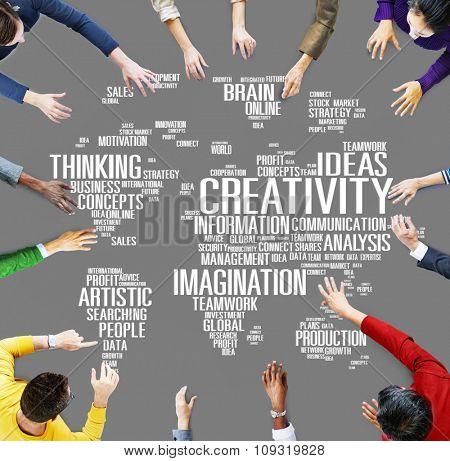 Creativity Artistic Imagination Inspiration Innovation Concept
