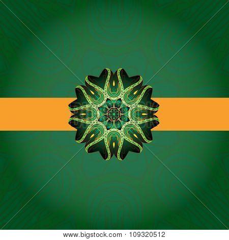 Mandala- Indian arnament.
