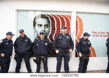 NYPD Counterterrorism personnel