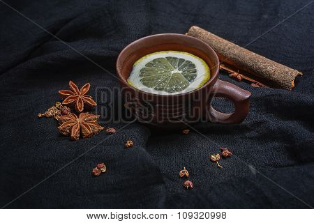 Lemon Tea And Spices