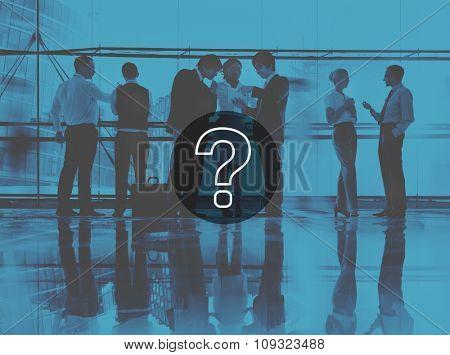 Question Mark Icon Solving Problem Solution Concept