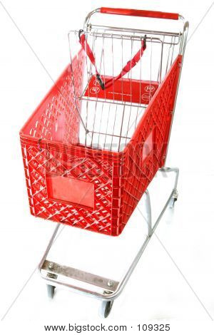 Red Shopping Cart