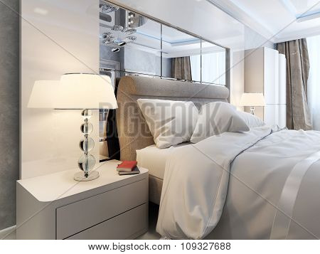 Bedroom Art Deco And Modern Interior