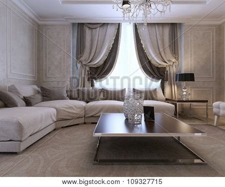 Guest Room Neoclassical Style