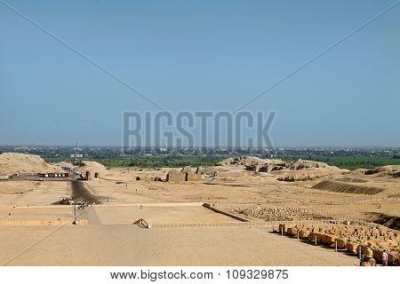 Egyptian excavations