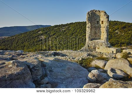 The ancient Thracian city of Perperikon