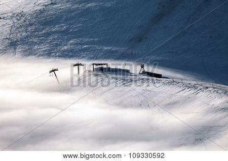 Peaks Above Clouds