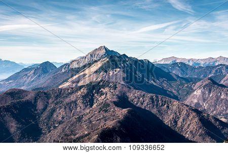 Slovenia Scenic Mountain Landscape Storzic