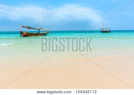 Dhow Boats Indian Ocean