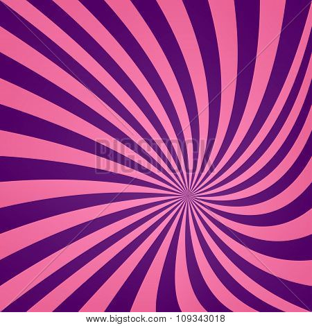 Pink purple vortex design