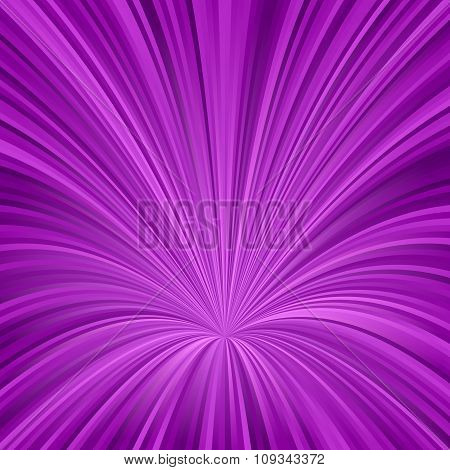 Purple vortex design from curved lines