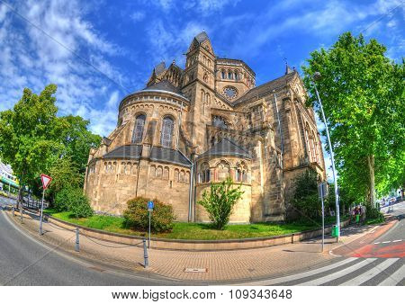 Basilica of St. Castor in Coblenz Germany