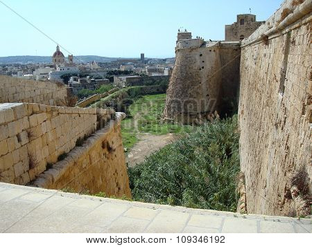 Citadel Wall And City