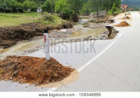 Road Destruction