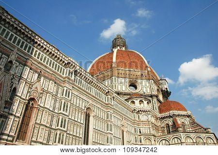 The dome of the Basilica di Santa Maria del Fiore (Basilica of Saint Mary of the Flower)