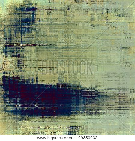 Retro background with old grunge texture. With different color patterns: yellow (beige); blue; purple (violet); gray