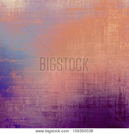 Antique vintage texture or background. With different color patterns: yellow (beige); blue; purple (violet); red (orange)