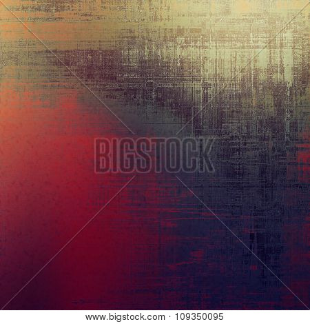 Old abstract grunge background for creative designed textures. With different color patterns: brown; purple (violet); red (orange); gray