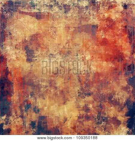 Grunge background with space for text or image. With different color patterns: yellow (beige); brown; purple (violet); red (orange)