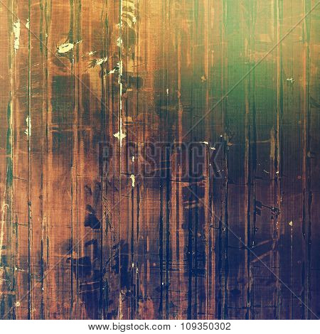 Grunge retro texture, elegant old-style background. With different color patterns: yellow (beige); brown; green; purple (violet)