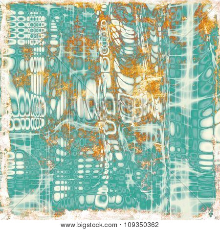 Old retro vintage texture. With different color patterns: yellow (beige); green; cyan; white
