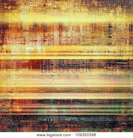 Grunge old texture as abstract background. With different color patterns: yellow (beige); brown; green; gray
