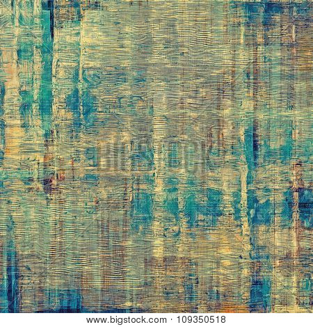 Old retro vintage texture. With different color patterns: yellow (beige); brown; blue; gray