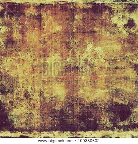 Old background with delicate abstract texture. With different color patterns: yellow (beige); brown; purple (violet)